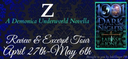 Review + Excerpt: 'Z' by @larissaione