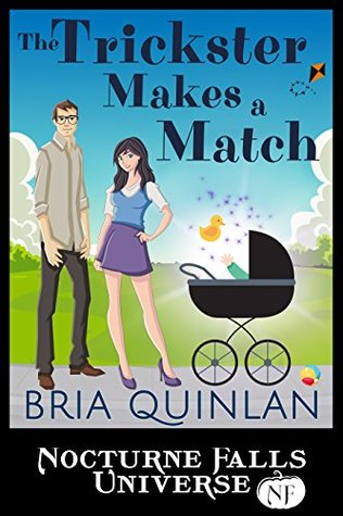 ARC Review: 'The Trickster Makes a Match' by Bria Quinlan