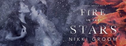 Cover Reveal: 'Fire in the Stars' by Nikki Groom