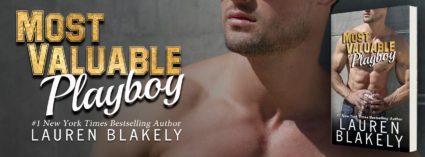 Cover Reveal: 'Most Valuable Playboy' by Lauren Blakely