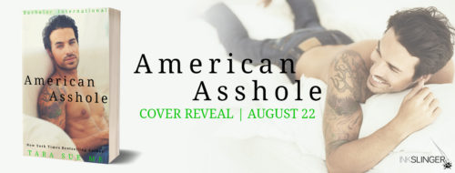 Cover Reveal: 'American Asshole' by Tara Sue Me