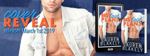 Cover Reveal: 'Best Laid Plans' by Lauren Blakely