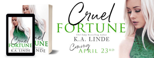 Cover Reveal: 'Cruel Fortune' by K.A. Linde