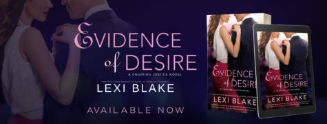 ARC Review: 'Evidence of Desire' by Lexi Blake (Blog Tour)