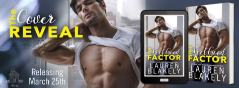 Cover Reveal: 'The Feel Good Factor' by Lauren Blakely