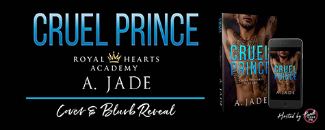 Cover Reveal: 'Cruel Prince' by Ashley Jade