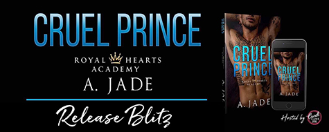Happy Book Birthday to Ashley Jade! 'Cruel Prince' released today!