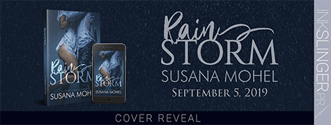 Cover Reveal: 'Rainstorm' by Susana Mohel