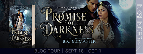Blog Tour: 'Promise of Darkness' by Bec McMaster (Review + #Giveaway) #Romanceopoly