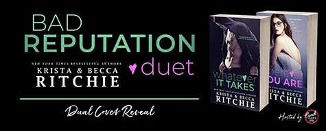 Cover Reveal: 'Bad Reputation Duet' by Krista & Becca Ritchie