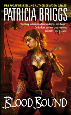 Review: 'Blood Bound' by Patricia Briggs #Romanceopoly2020